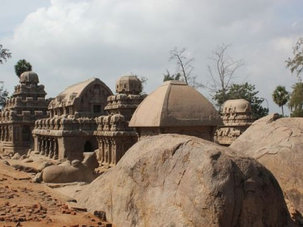 Mahabalipuram photos, Five Rathas