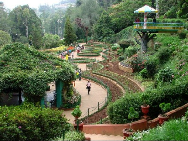 Ooty photos, Botanical Garden - Garden
