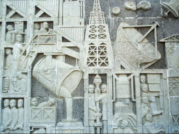 Sriperumbudur photos, Rajiv Gandhi Memorial - Stone Sculpture