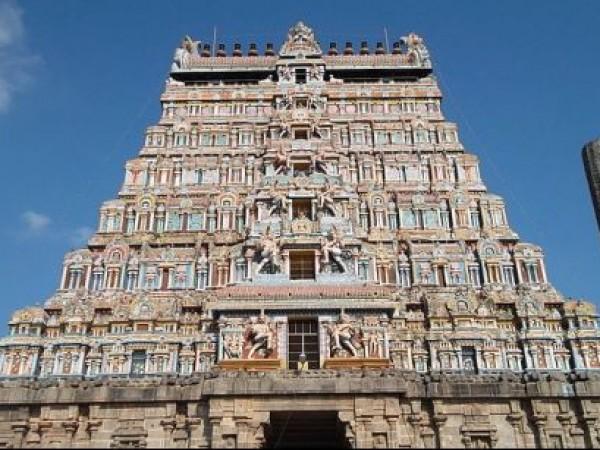Chidambaram photos, Thillai Natarajar temple - Main Gopuram