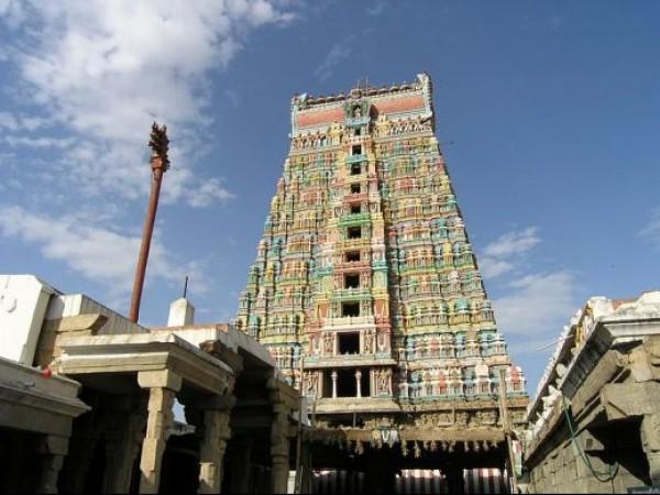 Srivilliputhur  photos, Andal Temple - Gopuram