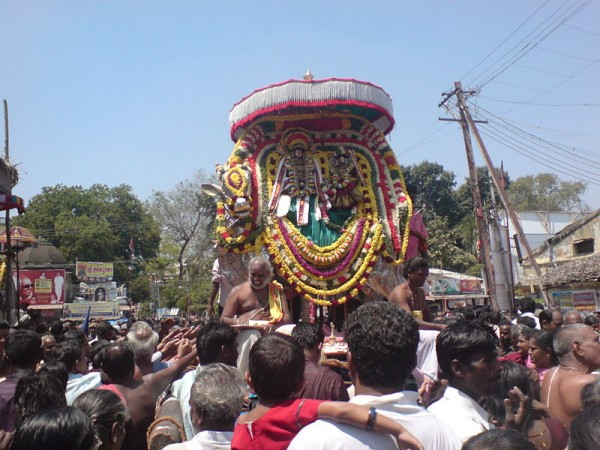 Kumbakonam photos, Adi Kumbeswarar Temple - A scene from the festival