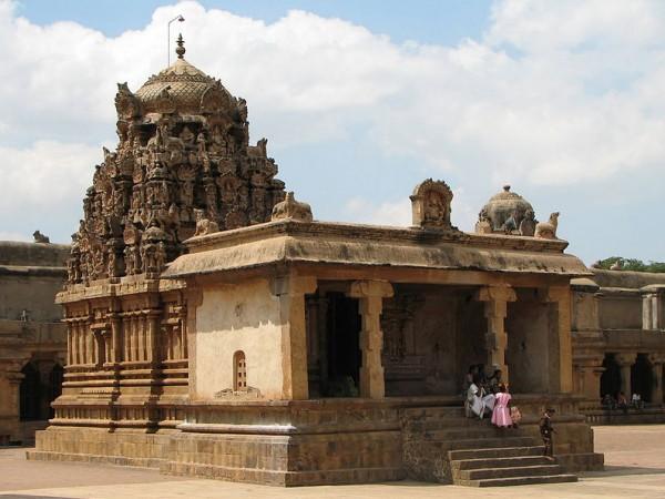 Thanjavur photos, Brihadeshwara temple - Ganapati Temple