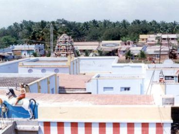 Theni photos, Gowmariamman Temple - A Distant View