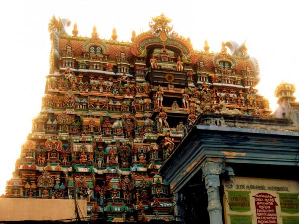 Tirunelveli photos, Nellaiappar Temple - Main Gopuram