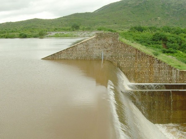 Theni photos, Shanmuganathi Dam - A View