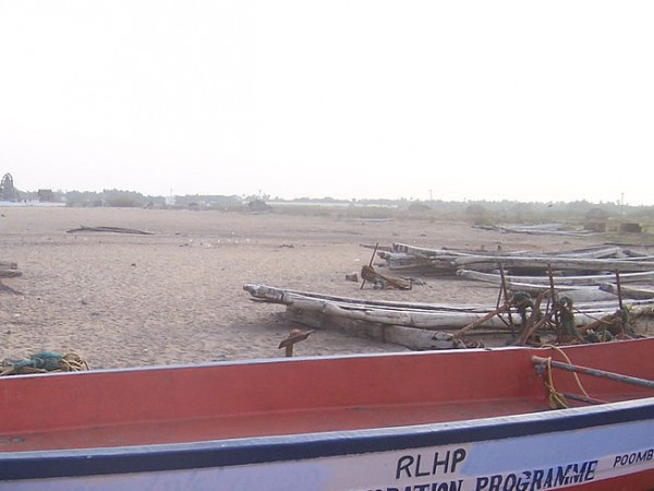 Poompuhar photos, Tsunami