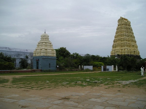Kanchipuram photos, Ekambareshvara Temple - Distant View