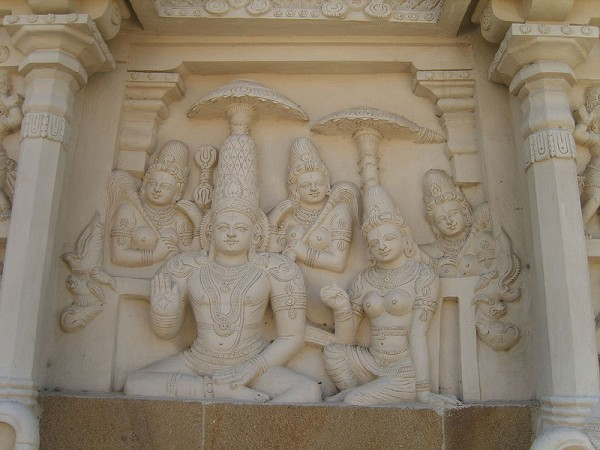 Kanchipuram photos, Kailasanathar Temple - Carvings
