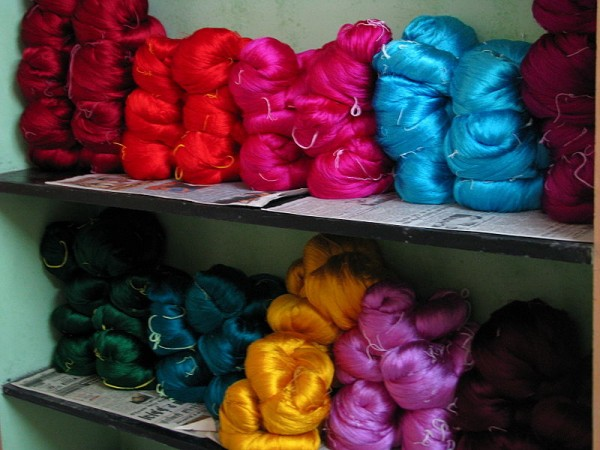 Kanchipuram photos, Silk