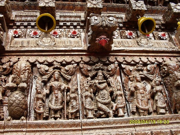 Trichy photos, Gunaseelam Temple - Beautifully carved