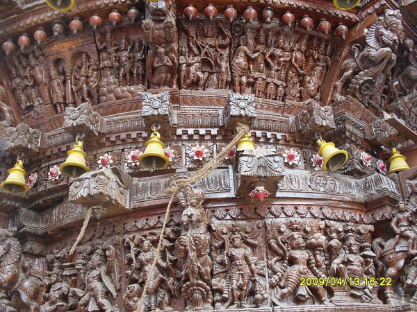 Trichy photos, Gunaseelam Temple - Intricate carving