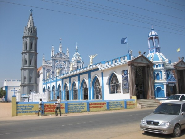 Thoothukudi photos, Our Lady Of Snows Church - A Distant View