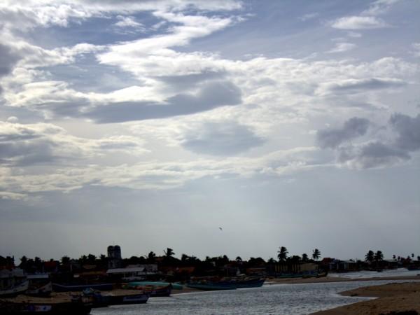 Thoothukudi photos, Manapad Beach & Church - View At Dusk