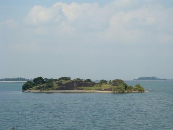 Pollachi photos, Aliyar Dam - Island In Aliyar