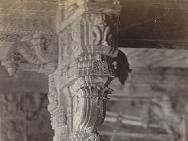 Coimbatore photos, Patteeswarar Temple - Perur - Carving on the pillar