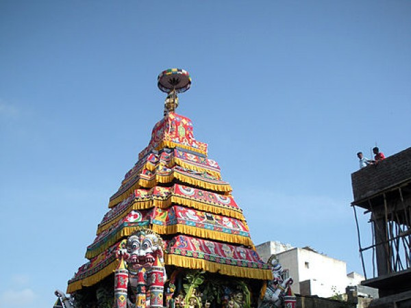 Chennai photos, Kapaleeshwar Temple - Chair car
