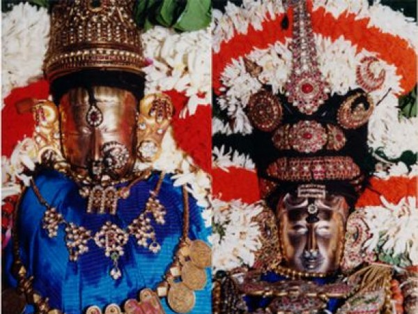 Chennai photos, Kapaleeshwar Temple - Lord and the goddess