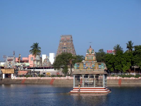 Chennai photos, Kapaleeshwar Temple - Temple Tank