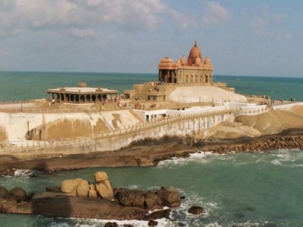 Kanyakumari photos, Vivekananda Rock - From a Distance