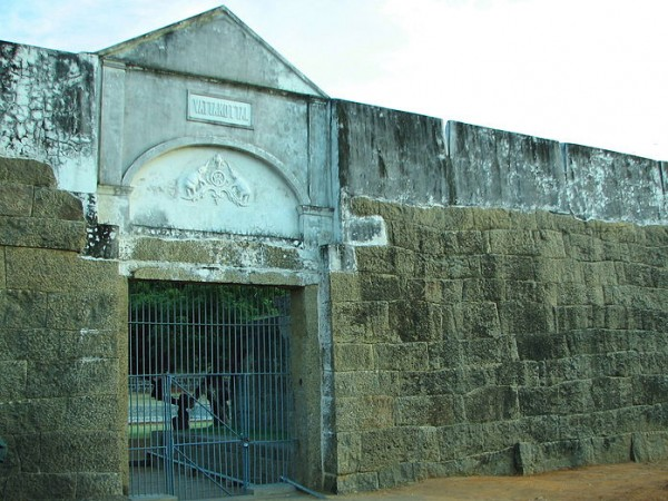 Kanyakumari photos, Vattakottai Fort - Fort Entrance