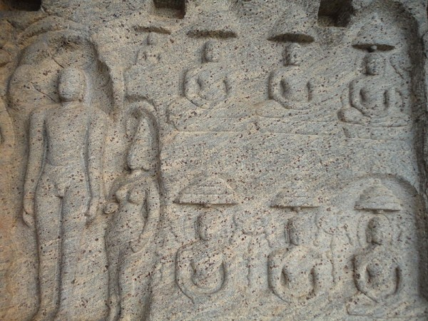 Kanyakumari photos, Chitharal Hill Temple And Jain Monuments - Rock Carvings