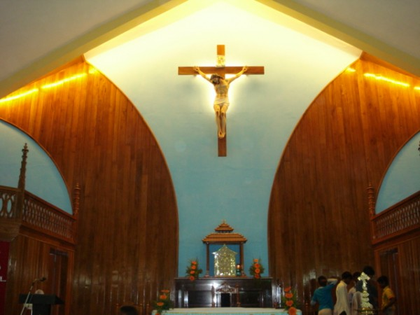 Kanyakumari photos, Vavathurai - Church Interiors
