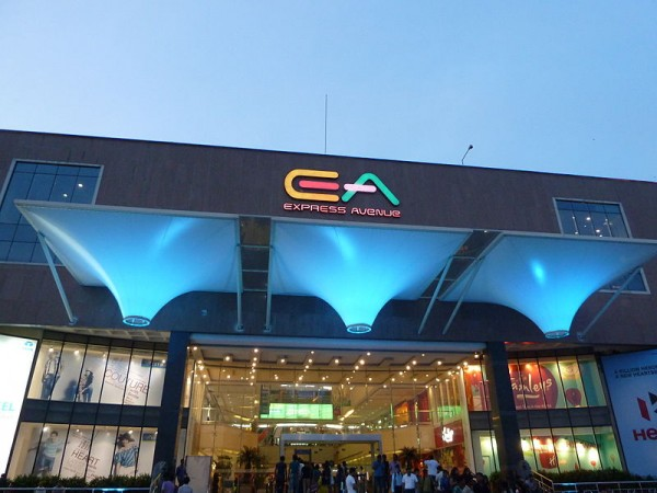 Chennai photos, Chennai Malls - Front Entrance