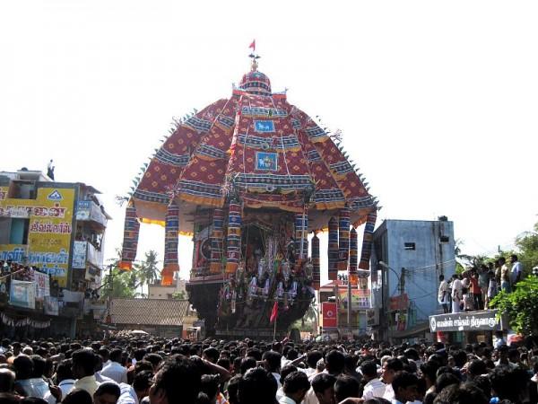 Thiruvarur photos, Thyagaraja Temple - Car Festival