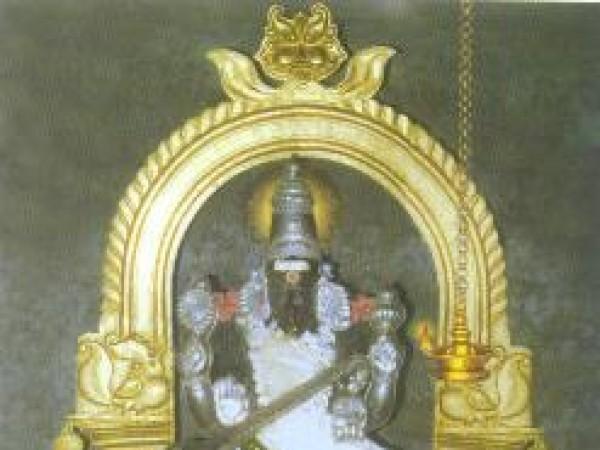 Thiruvarur photos, Saraswati Temple Koothanur - The Idol Of Goddess Saraswati