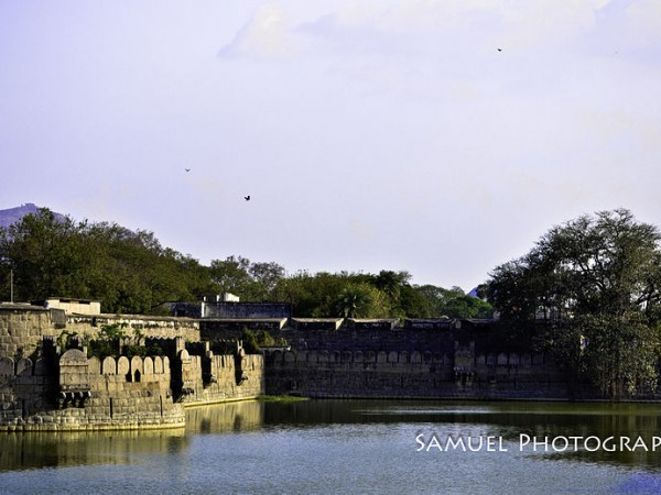 Vellore photos, Vellore Fort - Front View