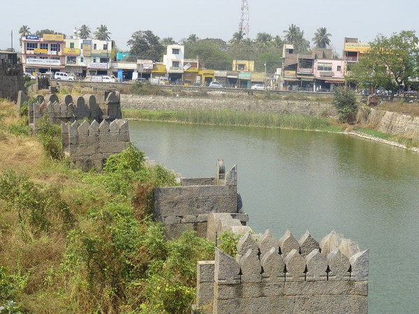 Vellore photos, Vellore Fort - A Beautiful Scene