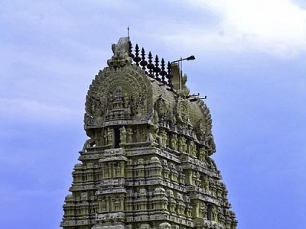 வேலூர் புகைப்படங்கள் - ஜலகண்டேஷ்வரர் கோயில் - கோயில் கோபுரம்