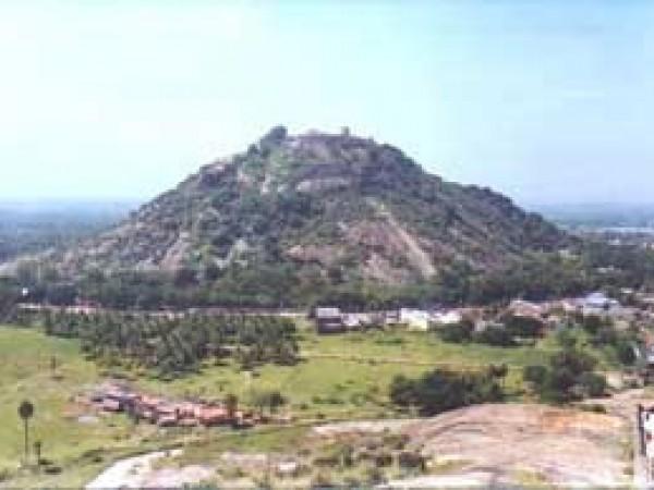 Dindigul photos, Dindigul Hill - A Distant View