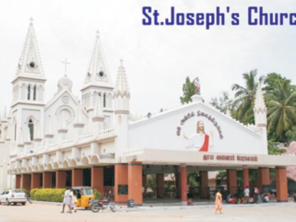 Dindigul photos, St.Joseph Church - A View