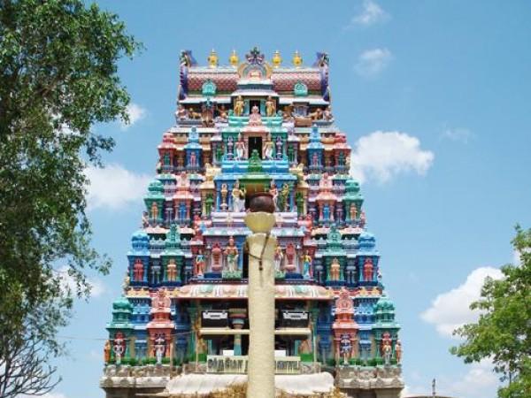 Dindigul photos, Thadikombu Perumal Temple - A View