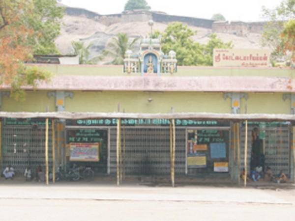 Dindigul photos, Kottai Mariamman Kovil - A View