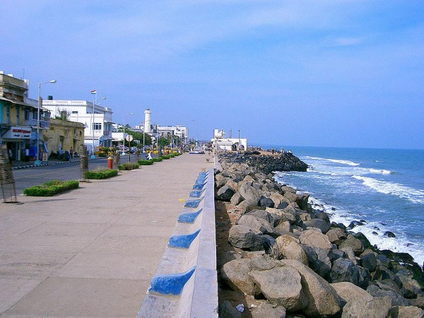 Pondicherry photos, Pondicherry Beach - Beach