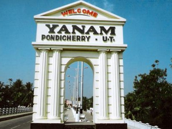 Yanam photos, New Bridge of Yanam