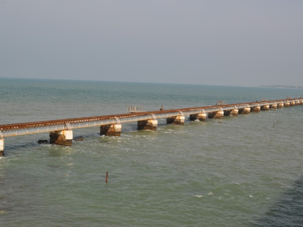 Rameshwaram photos, Pamban Bridge - Long Bridge