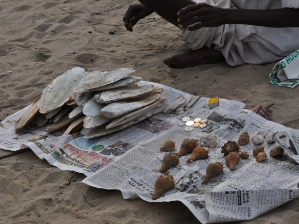 Rameshwaram photos, Rameshwaram Sea - Selling Shells