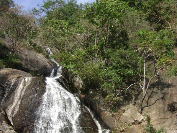 Pollachi photos, Monkey Falls - A View