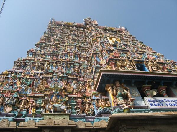 Madurai photos, Meenakshi Amman Temple - South Gopura