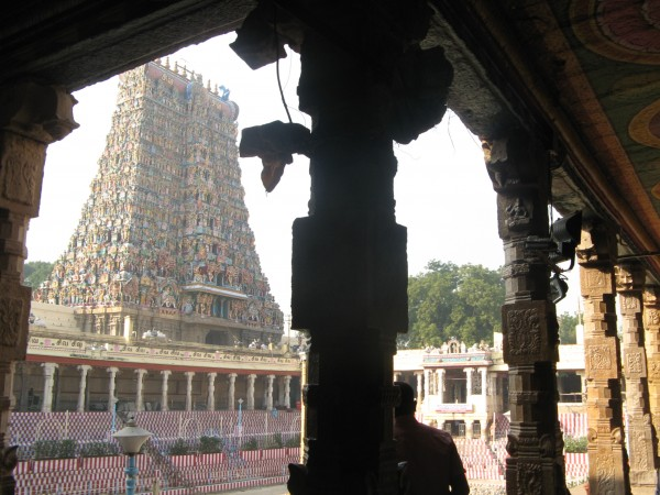 Madurai photos, Meenakshi Amman Temple - From the Inside