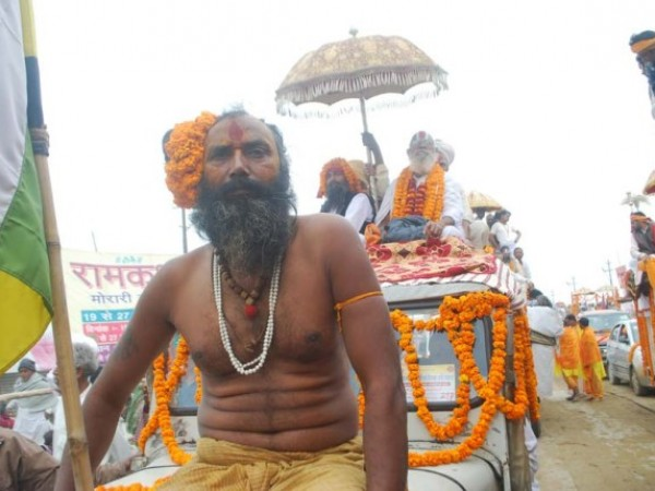 Allahabad photos, A localite at Kumbh Mela