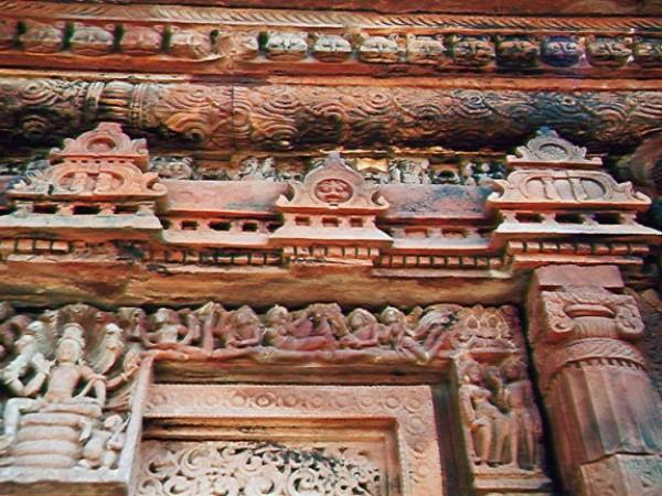 Deogarh photos, Dashavatara Temple - Carving of Dasavatara