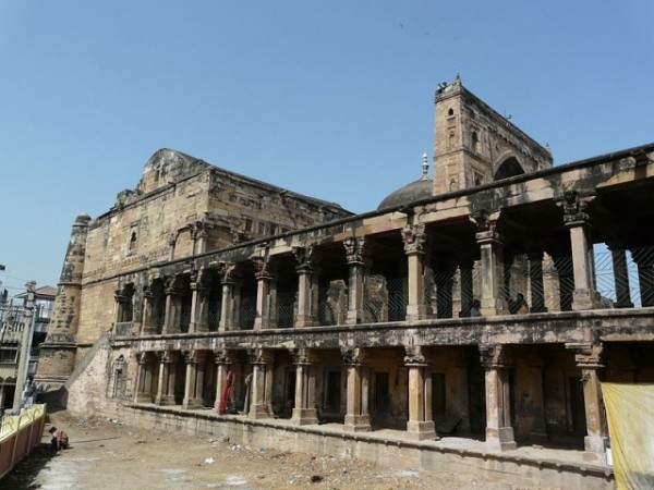 Jaunpur photos, Jama Masjid - A Side view