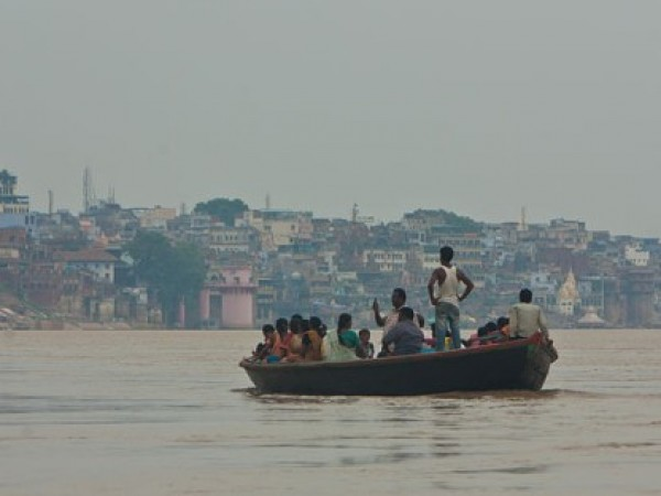 Varanasi photos, Varanasi Ghats - An evening view of Ghat