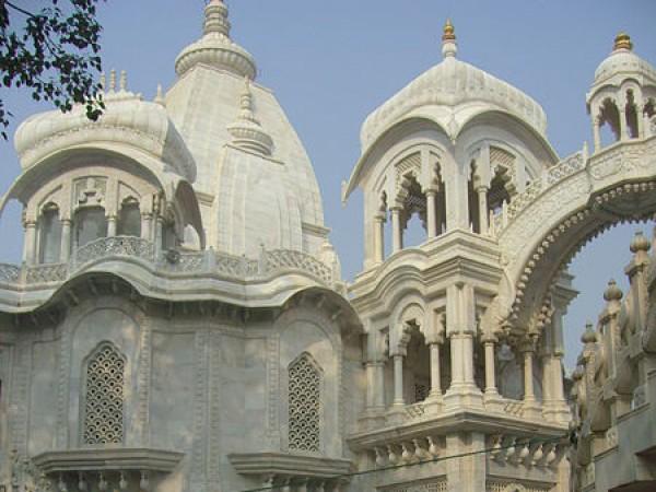 Vrindavan photos, ISKCON Temple - Inside view
