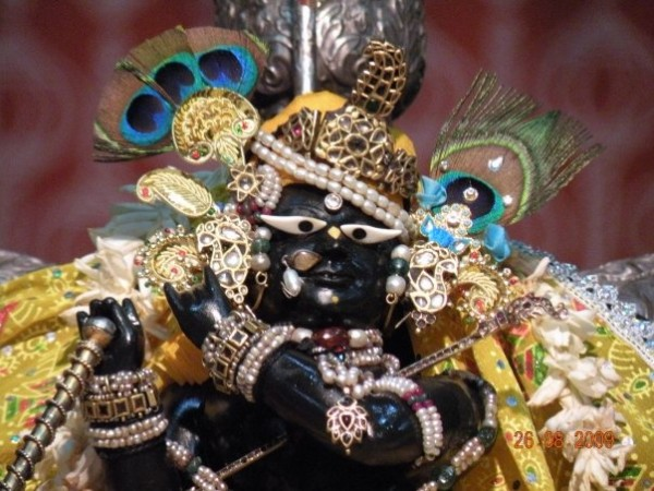 Vrindavan photos, Radha Raman Temple - Fierce  Idol